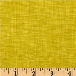 Timeless Treasures Sketch Citron Yellow