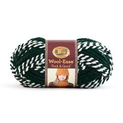 Lion Brand Wool-Ease Think & Quick Yarn Spartans