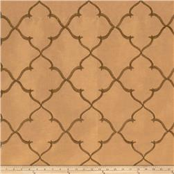 Fabricut Gladys Lattice Taffeta Mocha