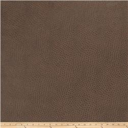 Fabricut Westbury Faux Leather Mahogany