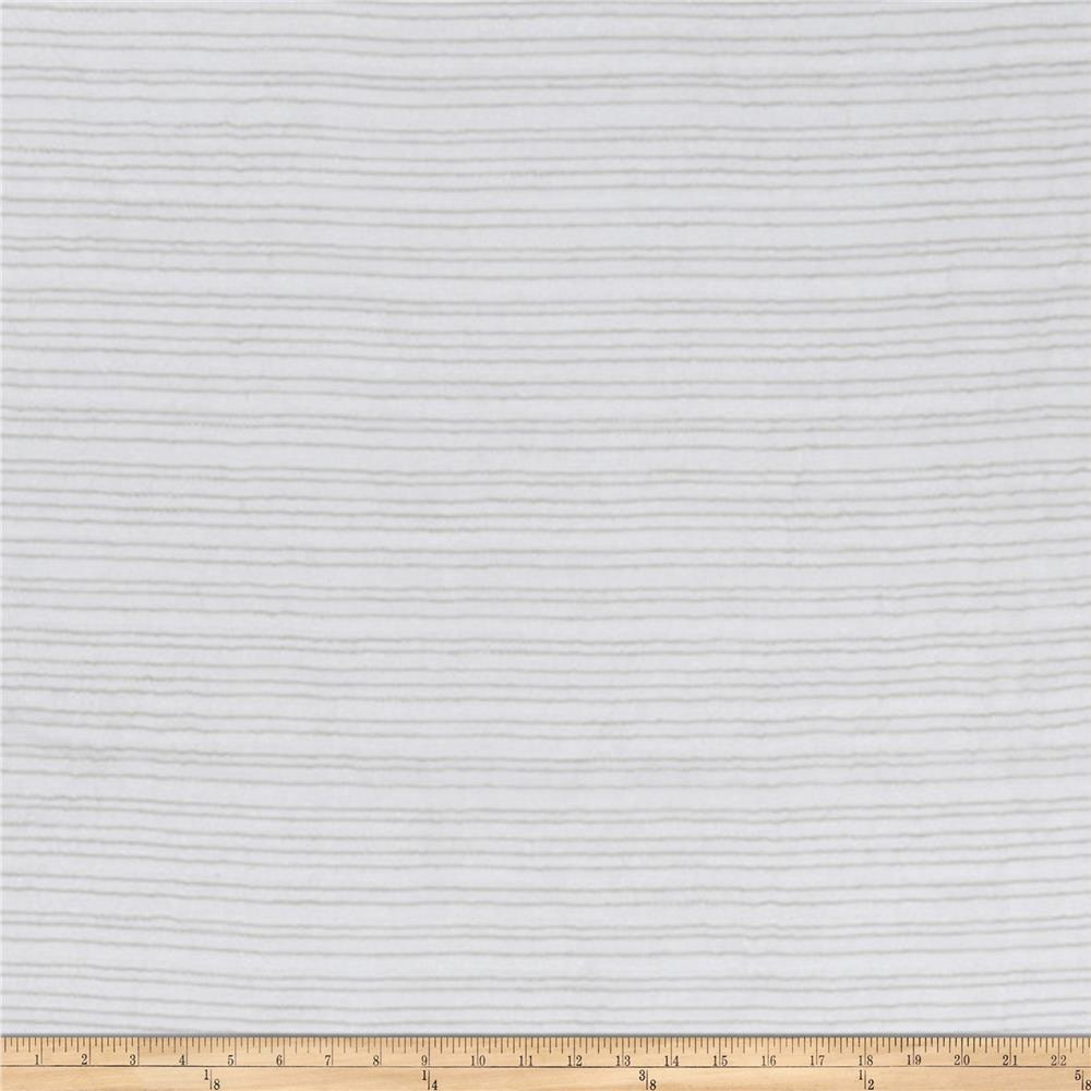 Fabricut Crinkle Texture 118'' Sheer Parchment