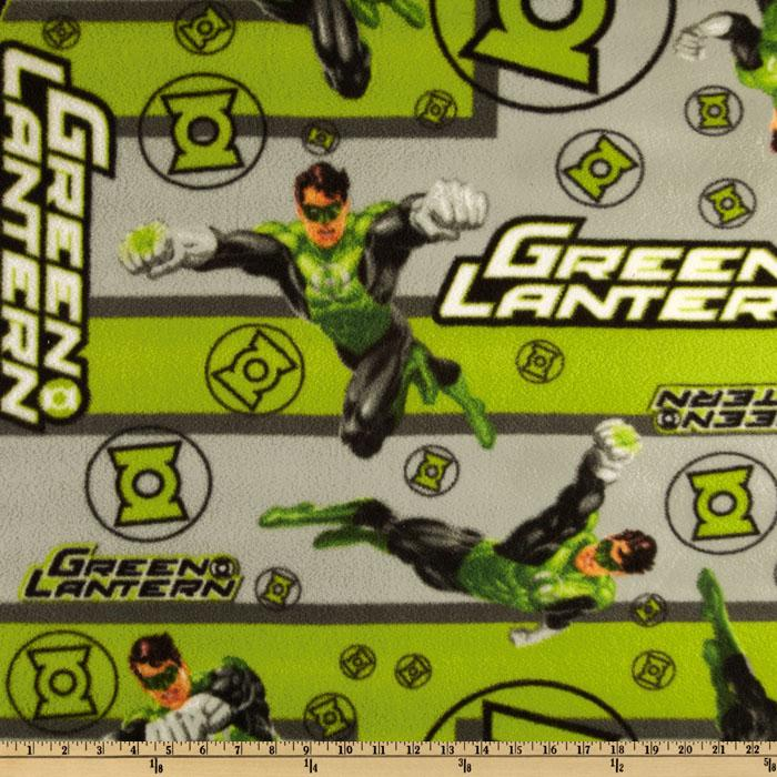 Green Lantern Fleece Green