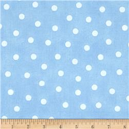 Up and Away Medium Dots Blue