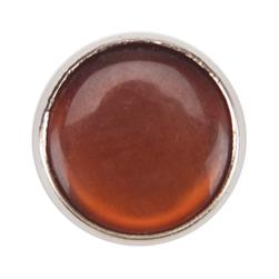 "Dritz Pearl Snaps 7/16"" Brown"