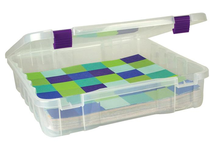 Creative Options Project Box Craft Organizer Clear