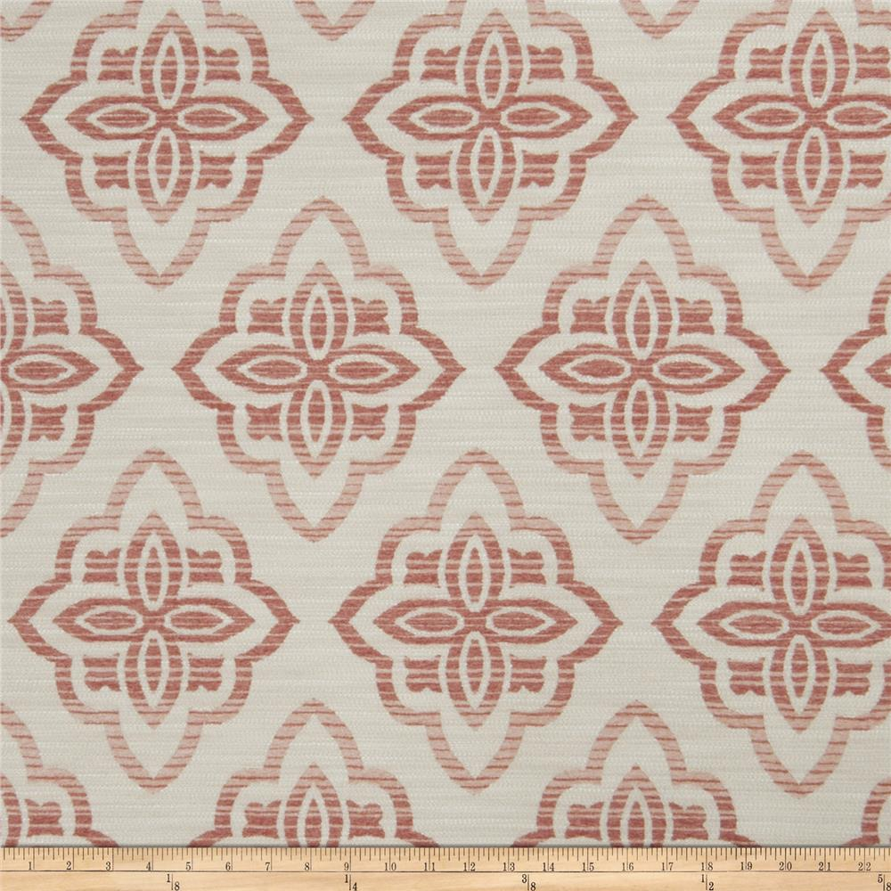 Jaclyn Smith 02601 Medici Chenille Jacquard Blush