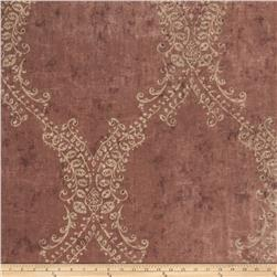 Fabricut Bevy Wallpaper Pomegranate (Double Roll)