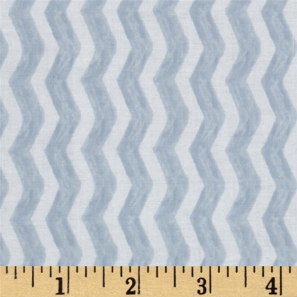 Michael Miller Out To Sea Water Chevron Gray