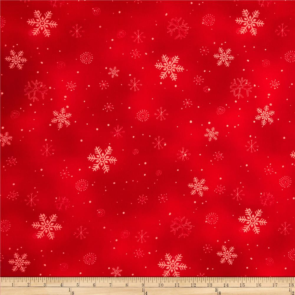 Chilly Silly Snowmates Flakes Red