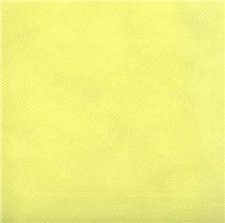 108'' Wide Nylon Tulle Lemon