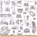 Minky Cuddle Prints Automobiles Graphite