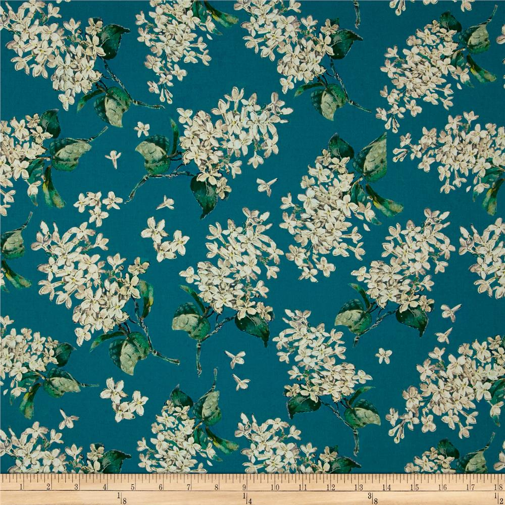 Liberty of London Archive Lilac Lawn Turquoise