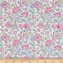 Liberty of London Classic Tana Lawn Felicite White/Pink