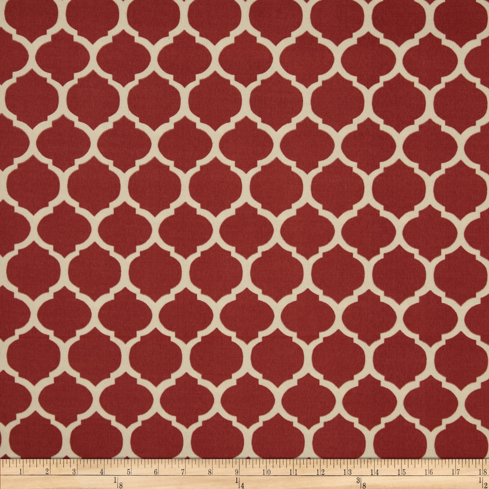 Image of Bryant Indoor/Outdoor Courtyard Trellis Spice Fabric