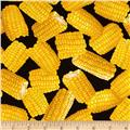 Kanvas Maine Attractions Corn on Cob Black