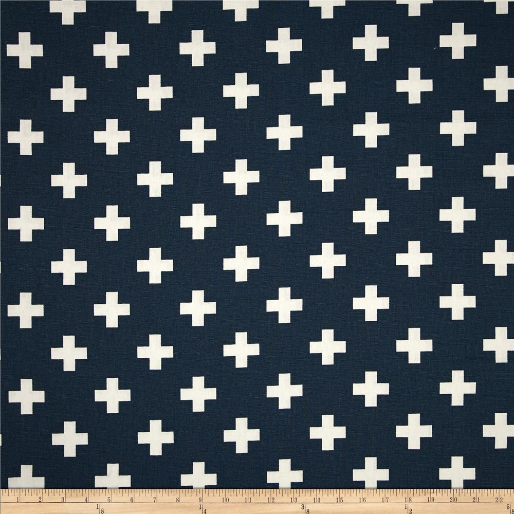 Premier Prints Swiss Cross Premier Navy