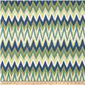 Swavelle/Mill Creek Rifat Chevron Green/Navy