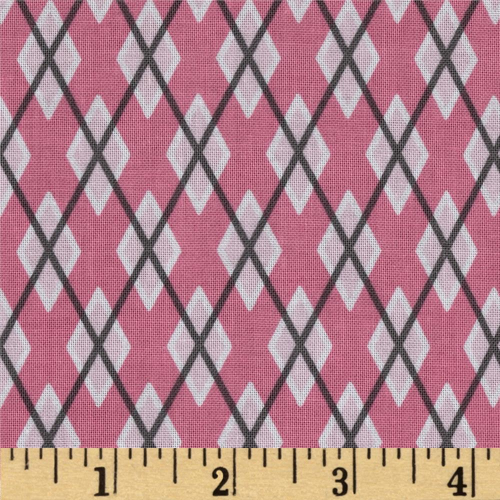 Michael Miller Argyle Me Girl