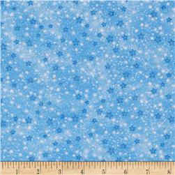 Flannel Stars Blue