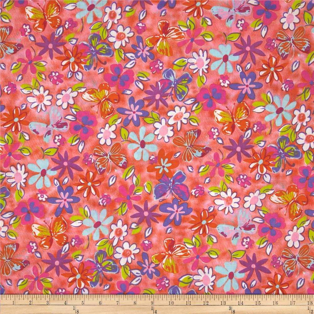 Betty Cotton Poly Broadcloth Pink