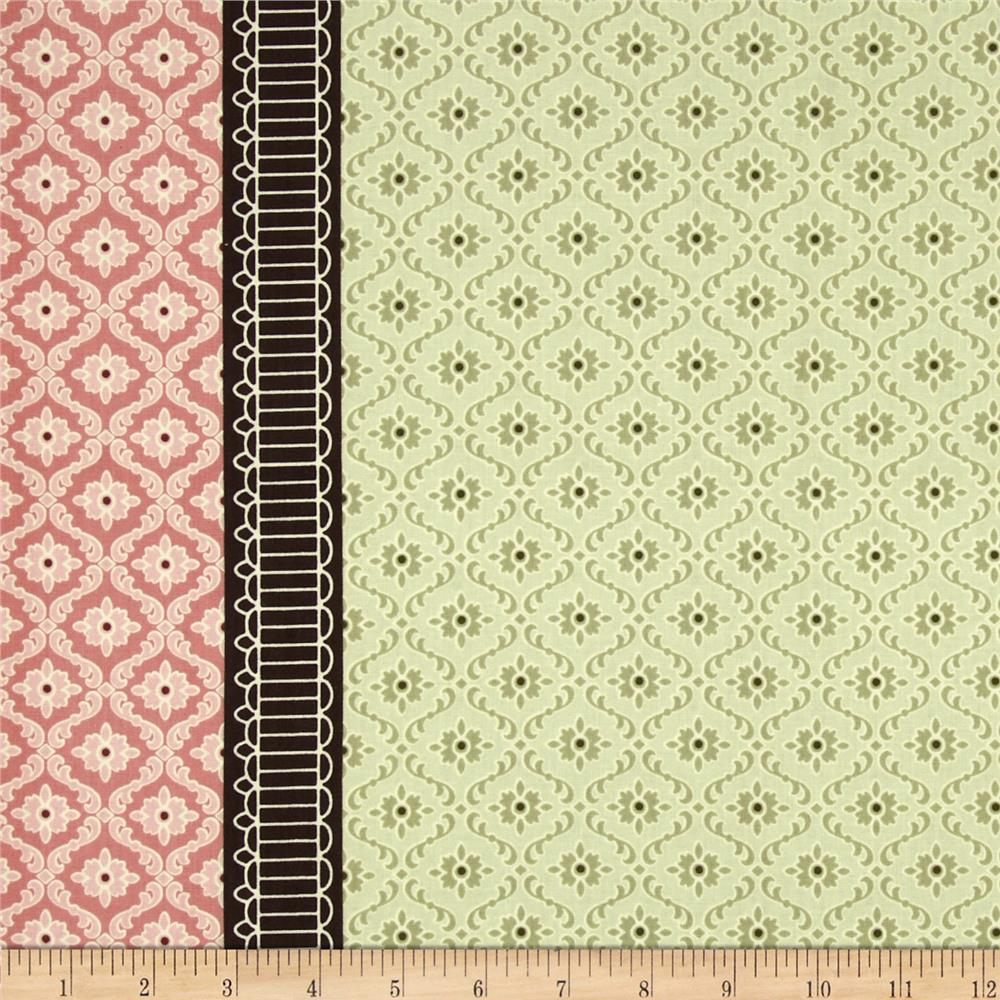 Antoinette Double Border Green