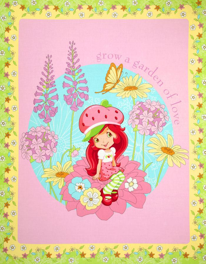 Strawberry Shortcake New Petal Panel Pink