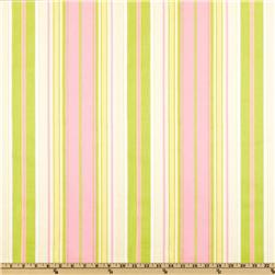 Premier Prints Terrace Stripe Gate Green/Baby Pink