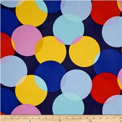 Michael Miller Cynthia Rowley Paintbox Big Dot Navy