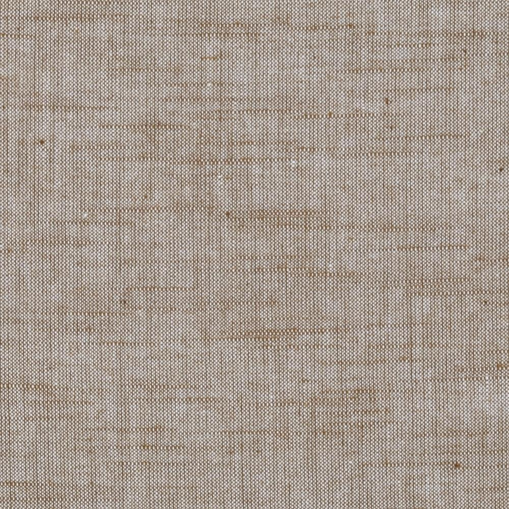 Stellar textured voile coffee discount designer fabric for Voile fabric
