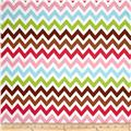 Remix Chevron Sorbet Brown