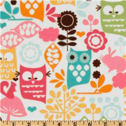 Michael Miller Forest Life Flannel Watermelon Fabric