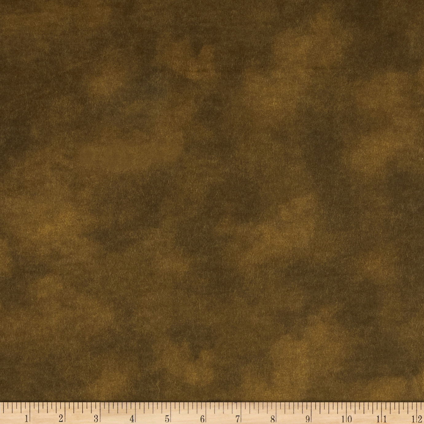 Image of 108'' Wide Flannel Mottled Chocolate Fabric