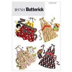 Butterick Aprons and Potholders Pattern B5765 Size XY0