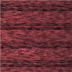 Stretch Variegated Hatchi Knit Plum Rose