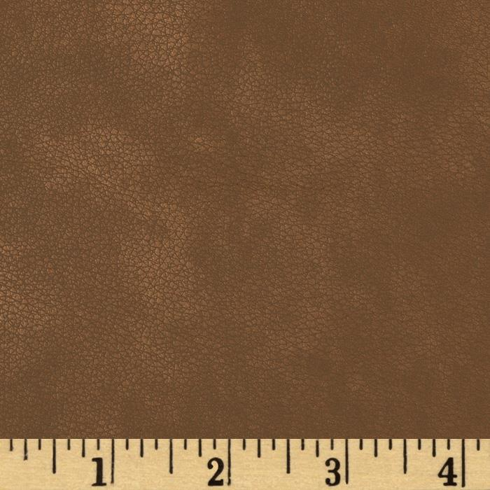 Richloom Faux Leather Derrick Portobella