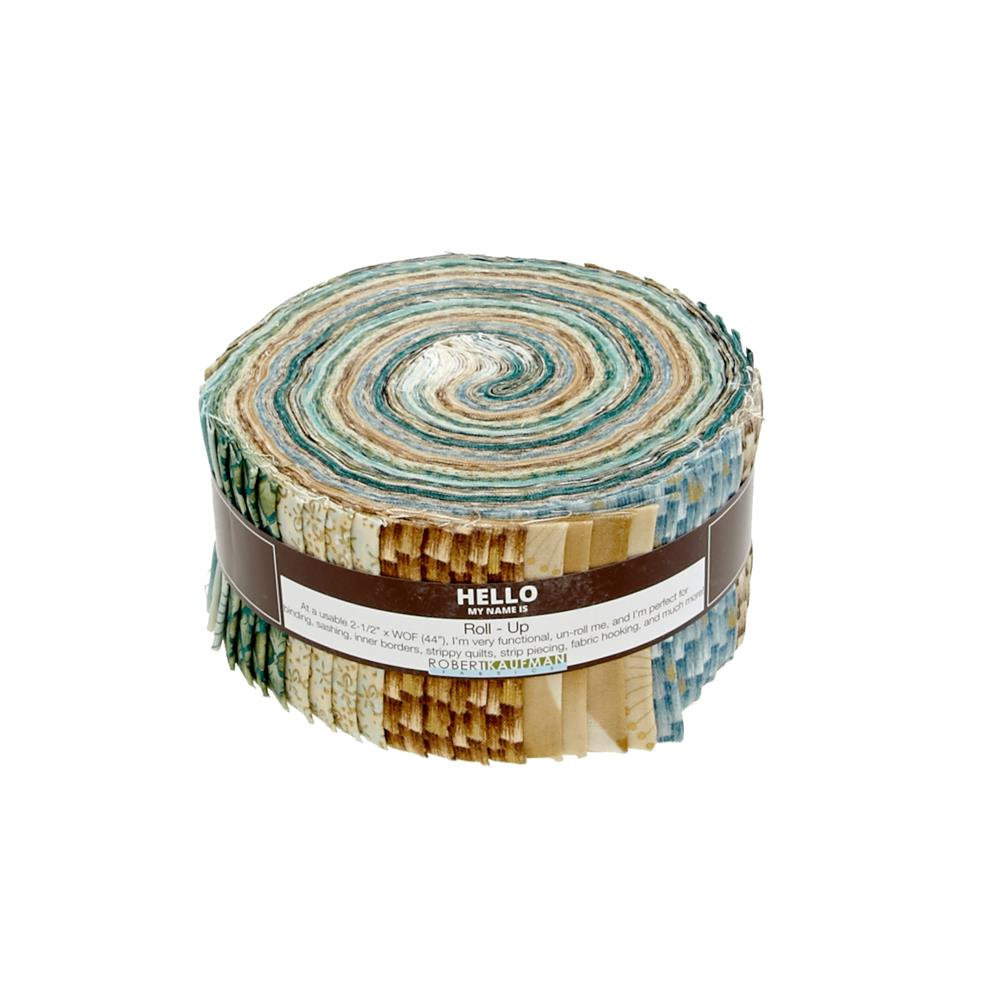 "Kaufman Imperial Collection Spring 2.5"" Jelly Roll Multi"