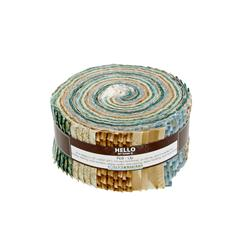 "Robert Kaufman Imperial Collection Spring 2.5"" Jelly Roll Multi"