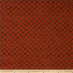 Lillian August Pageant Jacquard Chenille Paprika