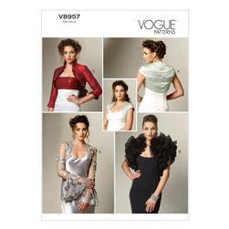 Vogue Misses' Jacket Pattern V8957 Size A50