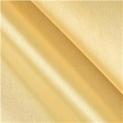 Stretch Satin Organza Light Yellow Fabric