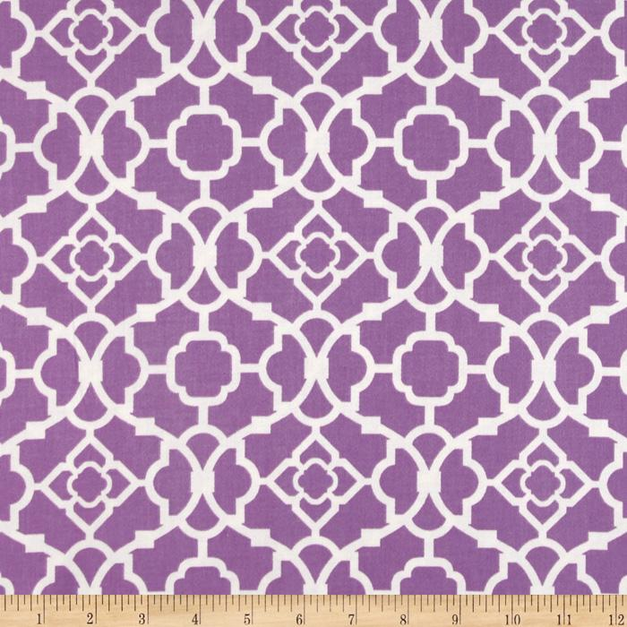Waverly Lovely Lattice Sateen Violet