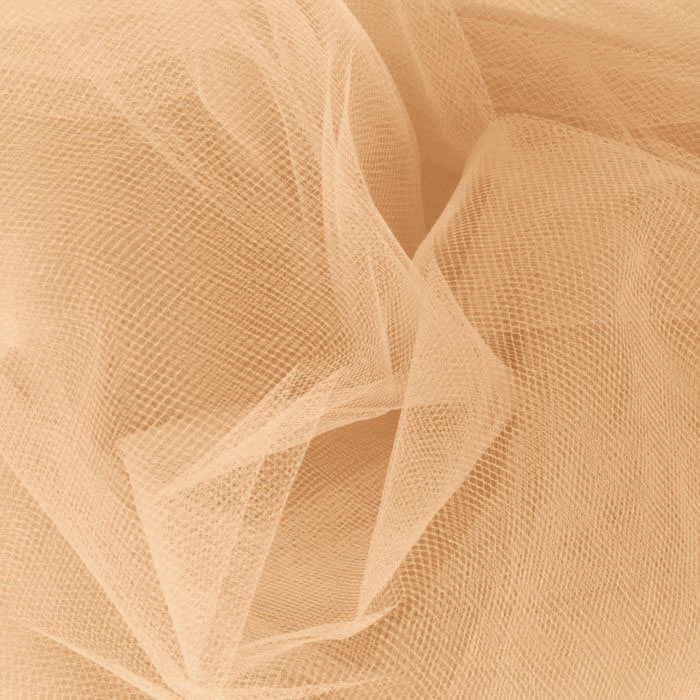 108'' Wide Nylon Tulle Melon Fabric