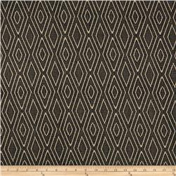 Home Accents Diamond Jacquard Upholstery Black