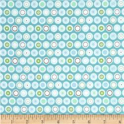 Riley Blake Flower Patch Dots Blue