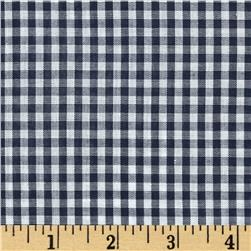 Gingham 1/8 In. Checks Galore Navy