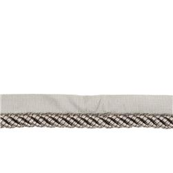 "Fabricut 1"" Reeds Cord Trim Pewter"