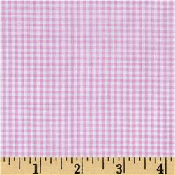 "Richcheck 60"" Gingham Check 1/16"" Lilac"