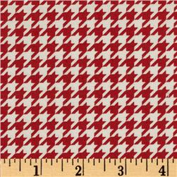 Kimberbell's Merry & Bright Houndstooth Red/White Fabric