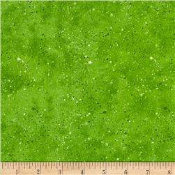 Essentials Spatter Texture Bright Green Fabric