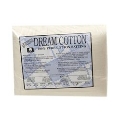 Quilter's Dream Natural Cotton Deluxe Batting (121'' x